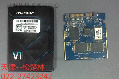 128G固态硬盘芯片损坏数据恢复成功